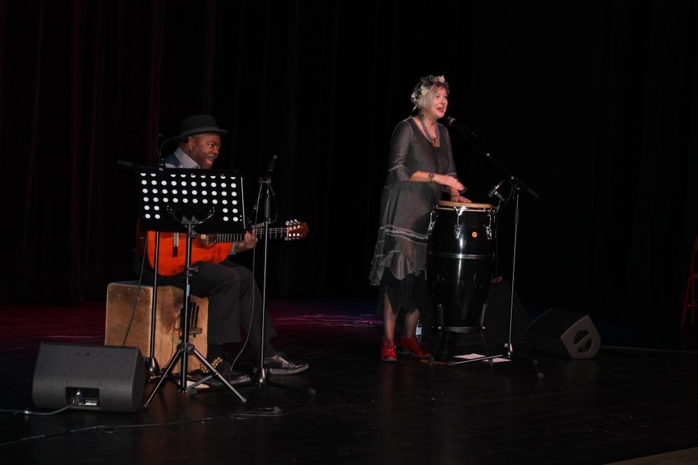 """Concert """" Duo Kassialata fougue slave et rythme créole"""""""